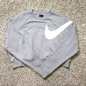 LIKE NEW cropped Nike sweatshirt